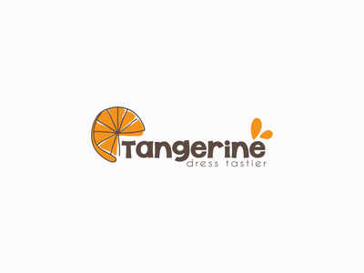 Logo design for Tangerine citrus tangerine fashion apparel logo design