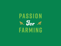 Passion For Farming WIP