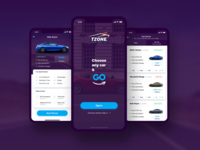 Tzone – Car Rental App