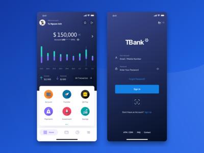 Banking & Wallet UI