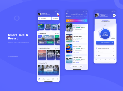 Smart Hotel & Resort Apps