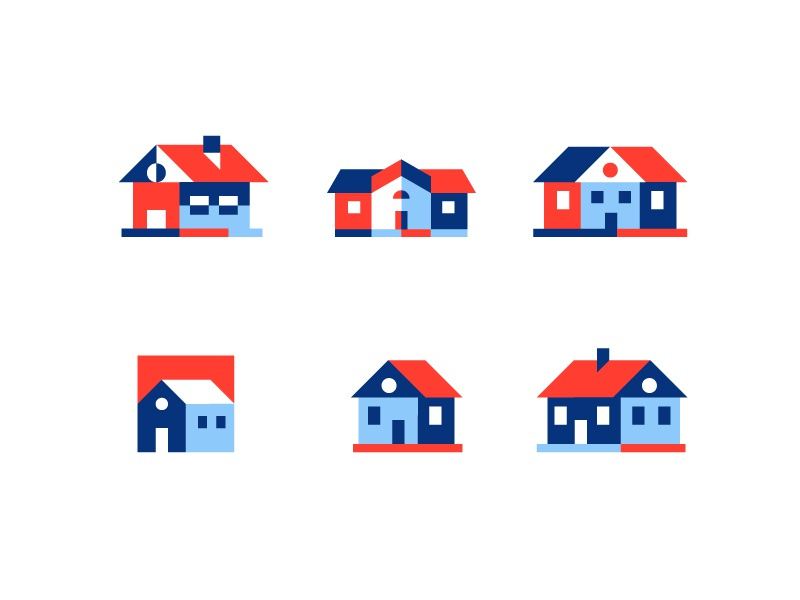 Houses home building house illustration