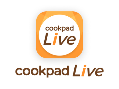 cookpadLive App Logo orange logo app