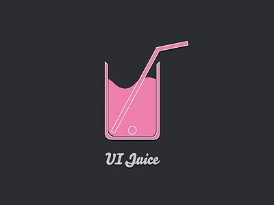 UI Juice pink logo