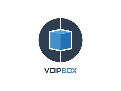 VoIP Box Logo logo design technology voip logo
