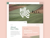 Hill Villa Homepage