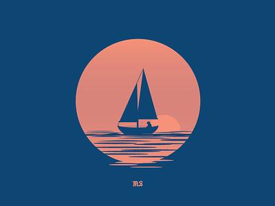 The Reaper Swims Alone design vectorart vector progress graphicdesign illustrator illustration