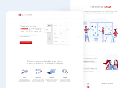 Website & Branding BI Applications branding web web design webdesign website logo design ux ui