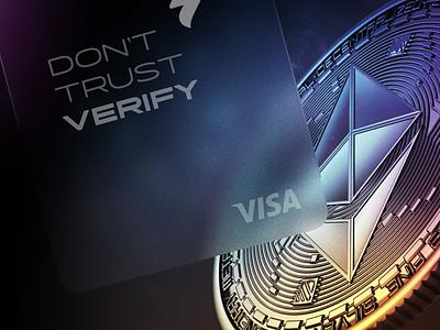 Wallet Crypto Credit Card 2.0 clean branding app ui web design crypto wallet