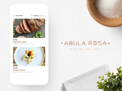 Restaurant app logo brand menu map iphone interface icons healthy fun food deleivery clean branding app