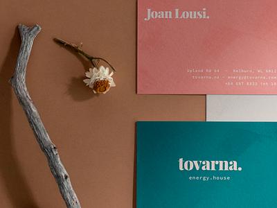 Tovarna Business Cards stationery photography business cards identity branding design branding
