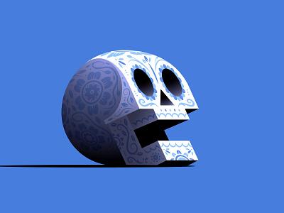 Sugar Skull vector skull all souls day day of the dead calavera