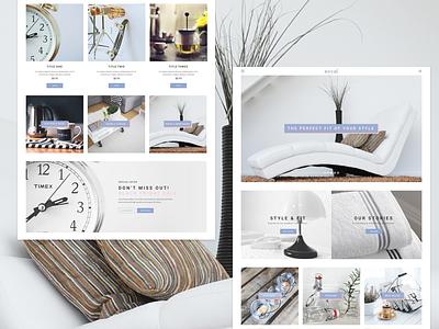 4ocal Landing page 01 layouts cards ui kit website webdesign web ui landing