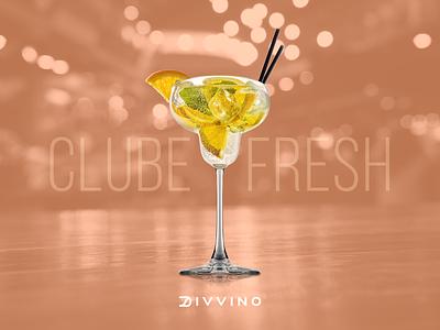 Clube Fresh divvino.com.br e-commerce bebida drinque drink fresh clube