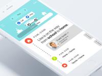 Kids Taker_ mobile application concept