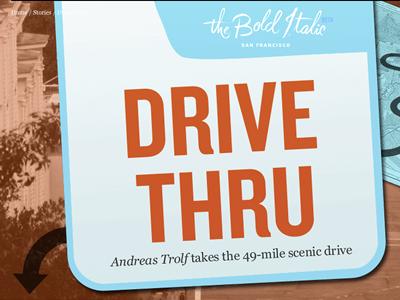 The Bold Italic: Drive Thru thebolditalic knockout