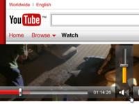 YouTube UX bits