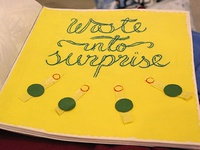 Waste into surprise