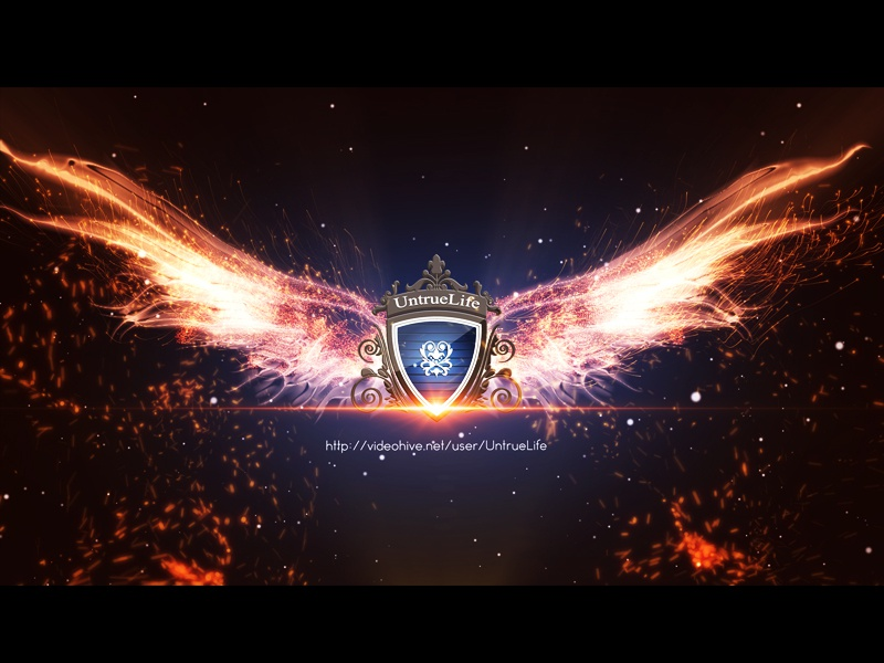 The Wing Logo wings particular nice movie logo game flame fire film epic color burn