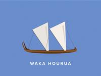 Waka Hourua Icon