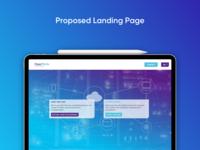 Proposed Landing Page