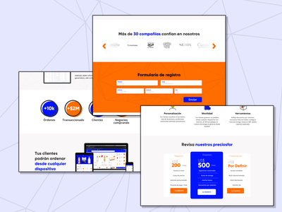 Saas Landing Page Design ux website web ui india flat dvait studio design