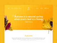 #DailyUI 3 / Landing Page