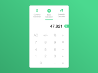 #DailyUI 4 / Calculator