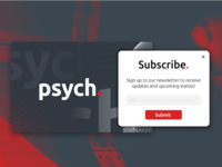 #DailyUI 8 / Subscribe