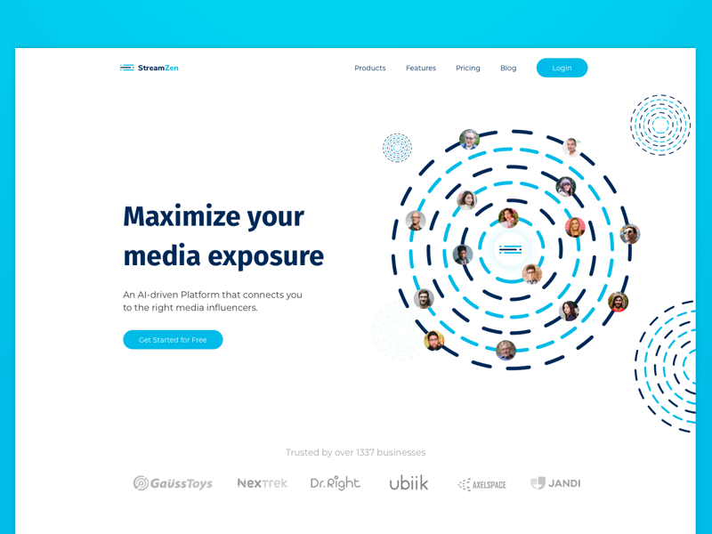 Media Outreach Landing Page exposure mongolia social campaign web landing page product social media social marketing media outreach outreach media