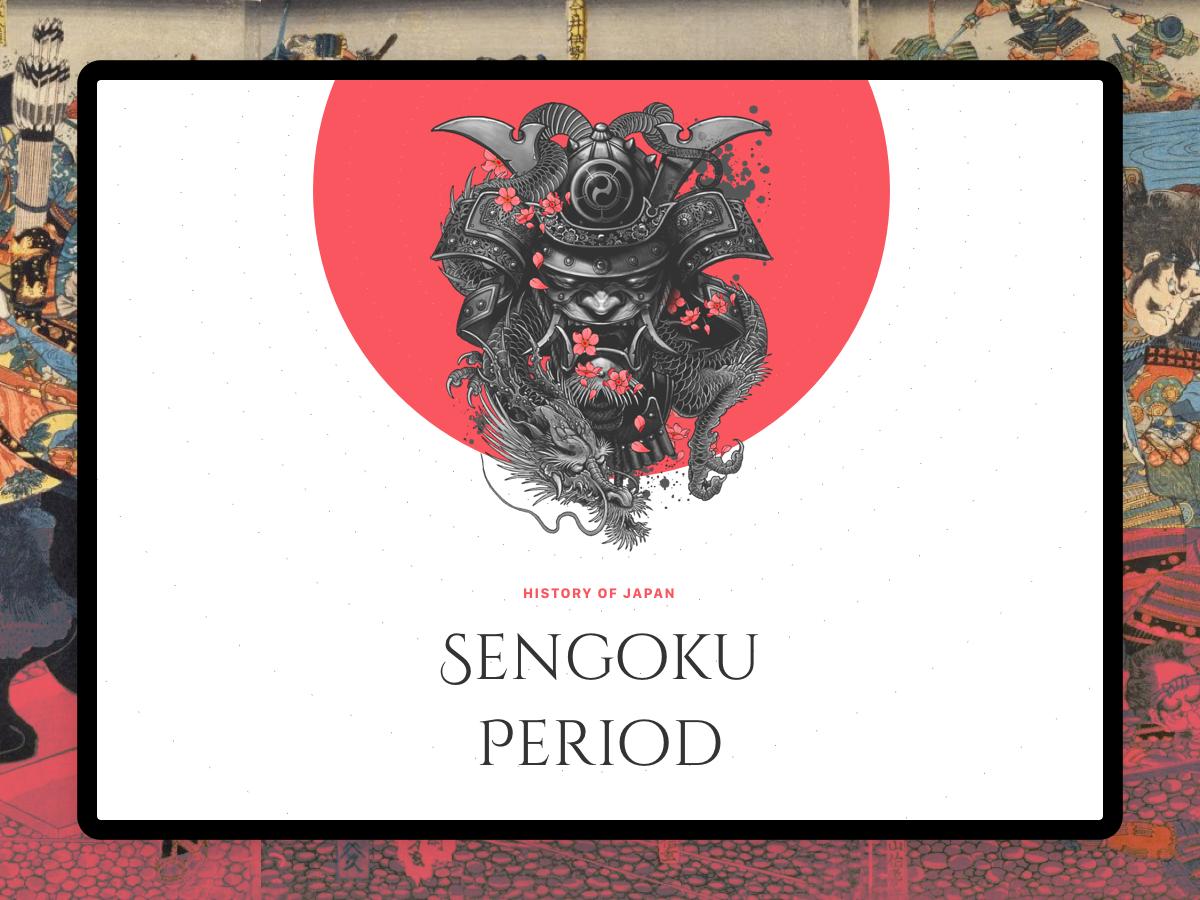 Daydrrream #4 – Sengoku Period article shinobi sekiro samurai history japanese japan period sengoku sketch