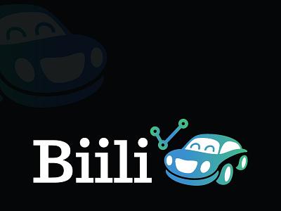 Biili The Car logo modern fun car
