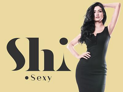 Shi *sexy boutique simplicity feminine modern logo