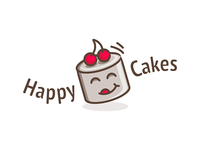 Happy Cakes - Logodesign
