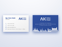 Business card AKHO