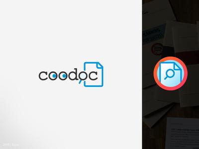 Coodoc.com   logo and mobile app icon