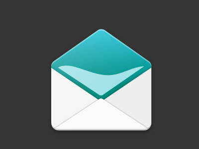 Aquamail Icon Redesign mail email material android icon design icon