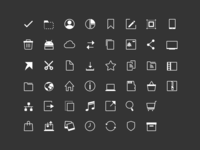 File Commander Icon Set