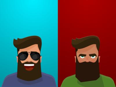 Bearded Emotions