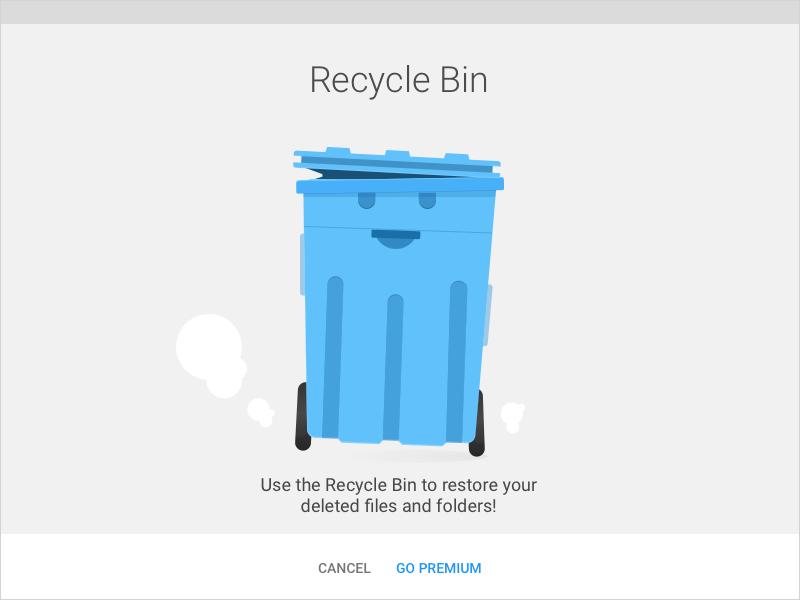 Recycle Bin file commander android trash recycle bin bin