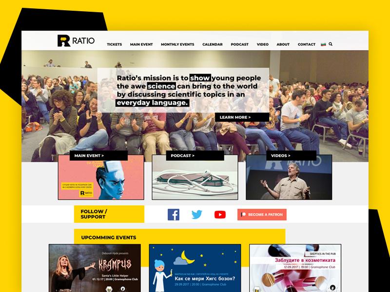Ratio science ratio website