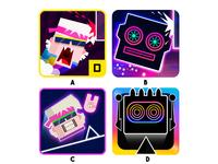 Daft Jump Icons