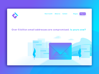 Compromised.Tech - Landing Page Concept
