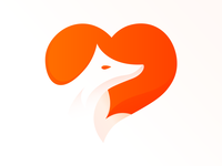 Fox Love Logo Idea