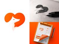 Fox Love Logo Idea