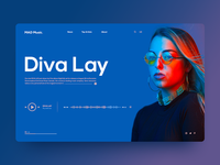 MAD Music | Artist Page concept