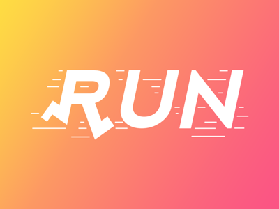 Run From 66 Smart Words By Bachir Bachchar On Dribbble