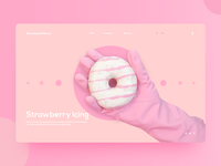 Donutswithlove | UI experiment