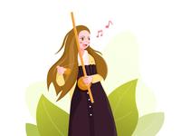 Sing girl