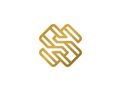 Elegant S monogram logos exclusive sophisticated gold rich branding cosmetics fashion luxury elegant ss s line initials monoline monogram geometric typography mark logo